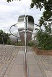 Nulmeridiaan (Greenwich), Londen, het UK Royalty-vrije Stock Afbeelding