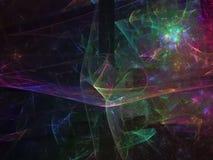 Numérique abstrait de fractale, numérique abstrait de fractale saturé photographie stock libre de droits