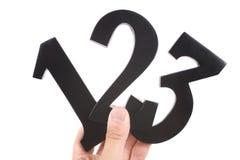 Numéro 123 Image libre de droits