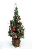 Numéro 3 d'arbre de Noël Photo libre de droits