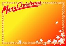 Numéro 5 de carte de Noël Photographie stock libre de droits