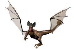 Numéro 5 de dragon illustration libre de droits
