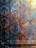 Numéro abstrait 1 de texture illustration stock