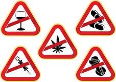 Numéro au ramassage de drogues Photos libres de droits