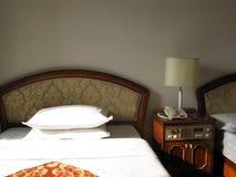 Numéro d'hôtel avec deux bâtis Images libres de droits