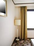 Numéro d'hôtel avec deux bâtis Photographie stock