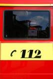 Numéro de secours de pompe à incendie Images stock