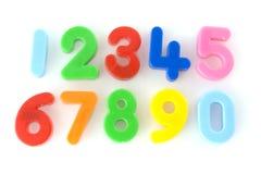 Numéros Image stock