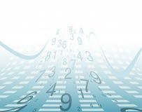 Numéros de fond. Image libre de droits
