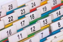 Numéros de limage Photographie stock libre de droits