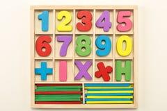 Numéros et signes Images stock