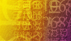 Numérote le chiffrement Image libre de droits