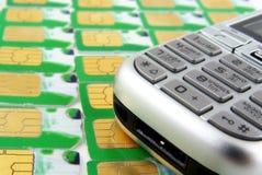 Num keyboard. Cellphone num keyboard Stock Image