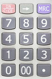Num Pad. This is a num pad of calculator Royalty Free Stock Photography