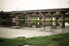 Num Phong bridge Stock Photos