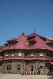 Num-Ti-Jah Lodge, Banff National Park Royalty Free Stock Photo