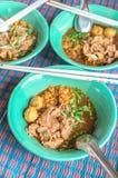 Num tok noodles Stock Photos