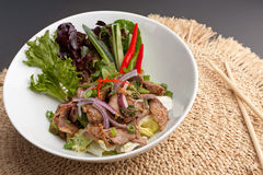 Num Tok Thai Steak Beef Salad Royalty Free Stock Photo