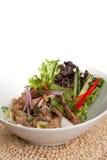 Num Tok Thai Steak Beef Salad Stock Photos