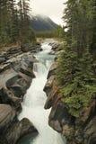 Numa Creek Falls, Alberta, Canadá Fotos de archivo libres de regalías