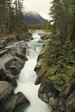 Numa Creek Falls, Alberta, Canada Royalty Free Stock Photos