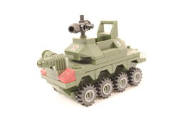 NUMBER 1 TANK TOY Stock Photos