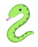 Number 2, the snake Stock Photos