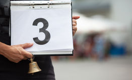 Number 3 Stock Photography