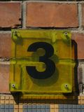 number-3-house Royalty Free Stock Photo