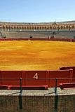 Number 4 gate at large bullring in Seville Spain Stock Images