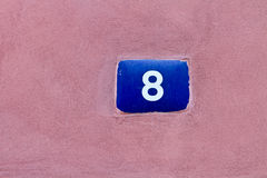 Number 8 Stock Image