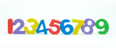 Number Arabic Stock Photography