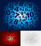 Number Background Royalty Free Stock Photo