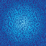 Number background Stock Images