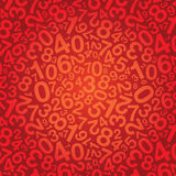 Number background Royalty Free Stock Photos
