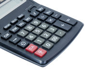 Number on basic calculator Stock Photography