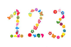 Number of beads Stock Photos