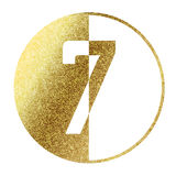 Number 7 Royalty Free Stock Photo