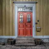 Number 15 century house royalty free stock image