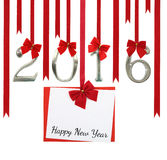 2016 number and Christmas Royalty Free Stock Photos