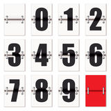 Number clock counter Royalty Free Stock Photography