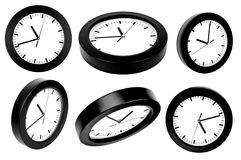 A number of clocks Stock Image