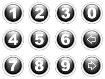 Number collection Royalty Free Stock Photo