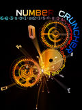 Number Cruncher Royalty Free Stock Image
