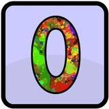 Number desain for all purpose Stock Photography