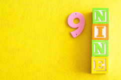 Number 9 Royalty Free Stock Images