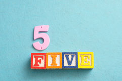 Number 5 Stock Photos