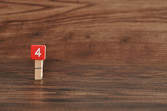 Number 4 Stock Images
