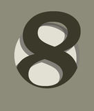 Number eight Stock Images