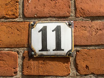 Number eleven Stock Photos